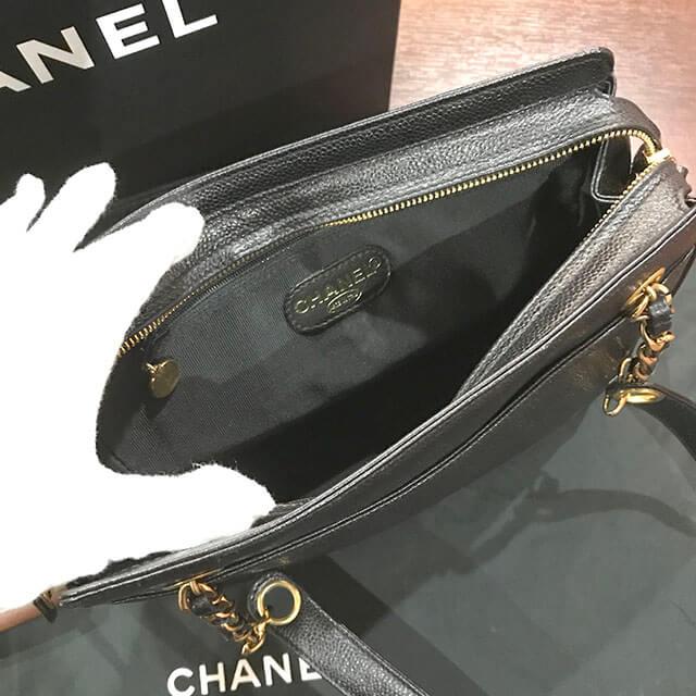 我孫子のお客様からシャネルのチェーンショルダーバッグを買取_04