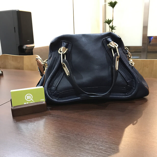 玉造店にてクロエのバッグ【パラティ】を買取_01