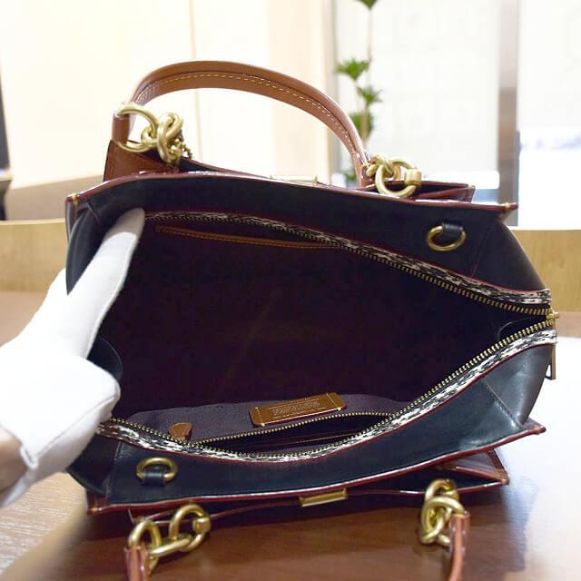 京橋のお客様からコーチの【ドリーマーシグネチャー】バッグを買取_03