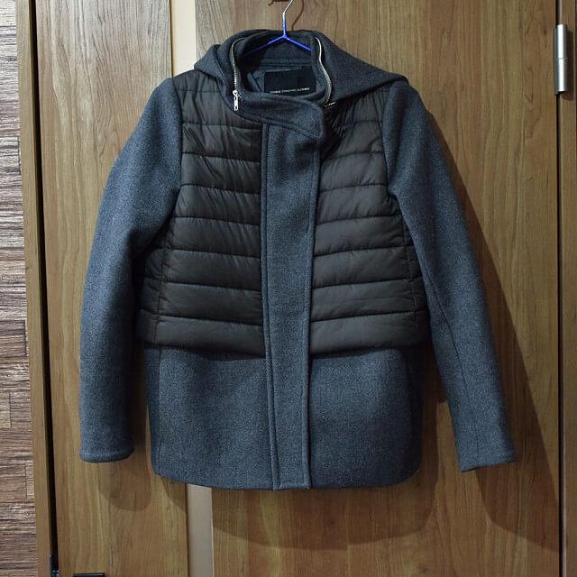 深江橋のお客様からDOUBLE STANDARD CLOTHINGのコートを買取_01