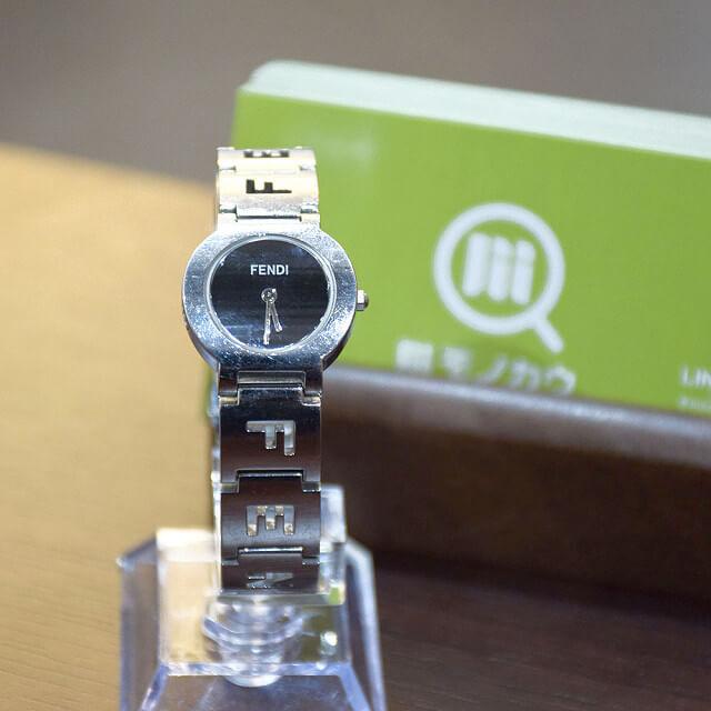 長田のお客様からフェンディの腕時計を買取_01