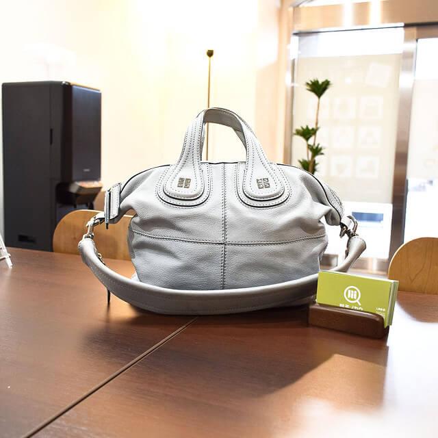 大阪のお客様からジバンシィのバッグ【ナイチンゲール】を買取_01