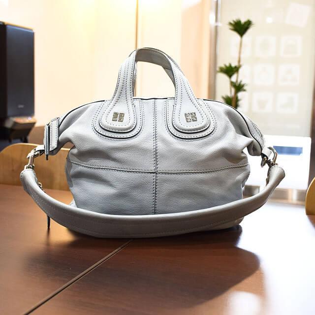 大阪のお客様からジバンシィのバッグ【ナイチンゲール】を買取_02