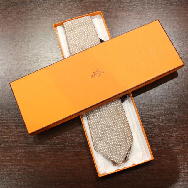 鶴橋のお客様からエルメスのネクタイを買取_02