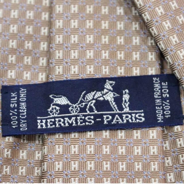 鶴橋のお客様からエルメスのネクタイを買取_04