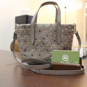 東大阪のお客様からジミーチュウの【ミニサラ】2wayバッグを買取