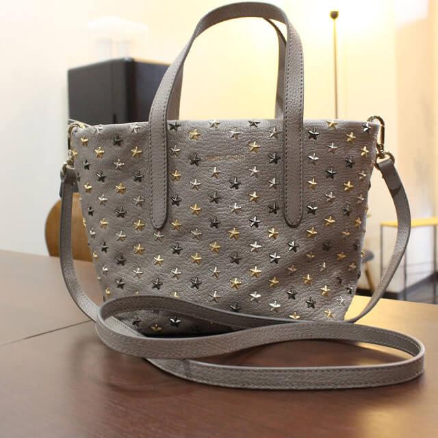 東大阪のお客様からジミーチュウの【ミニサラ】2wayバッグを買取_02