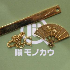 深江橋のお客様から18金のネックレスを買取