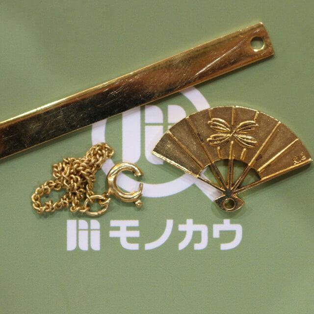 深江橋のお客様から18金のネックレスを買取_01