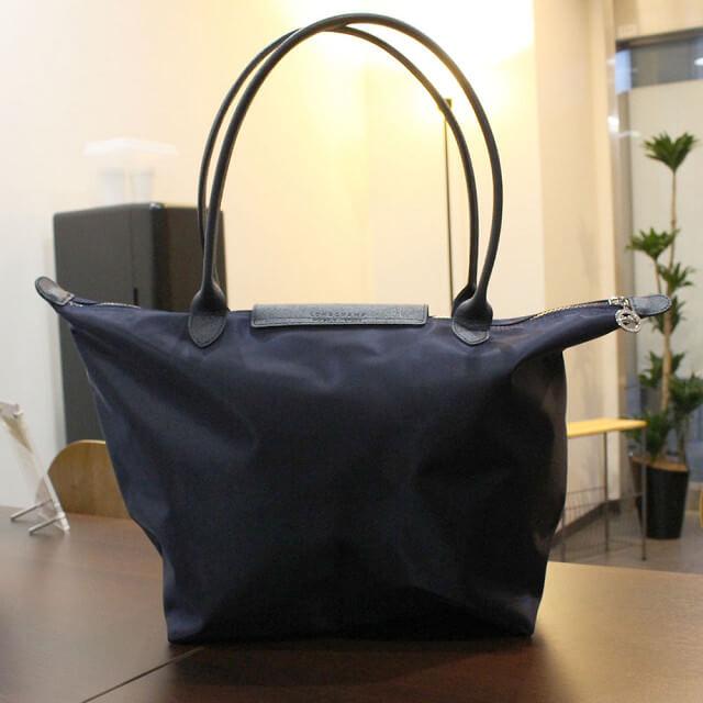 名古屋のお客様からロンシャンのナイロントートバッグを買取_02