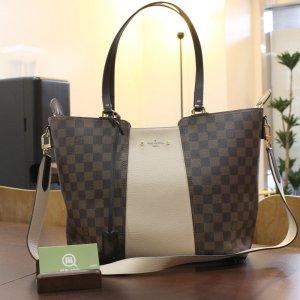 函館からヴィトンのダミエのハンドバッグ【ジャージー】を買取