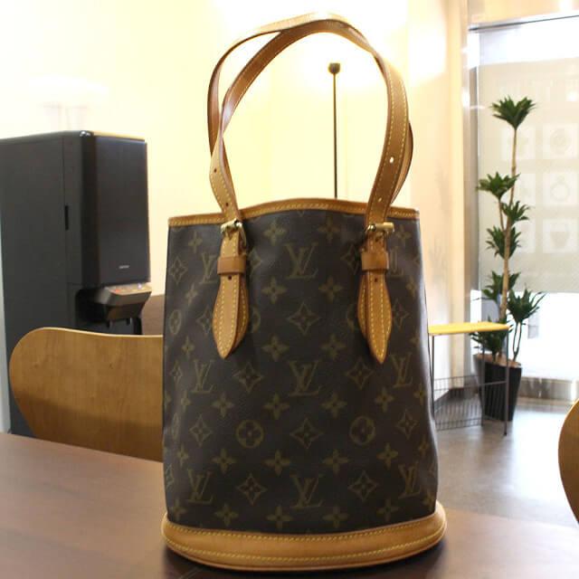 東大阪のお客様からヴィトンのバケツバッグ【バケットPM】を買取_02