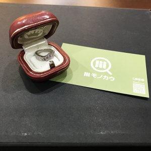 西宮のお客様からピンクダイヤモンドの指輪を買取
