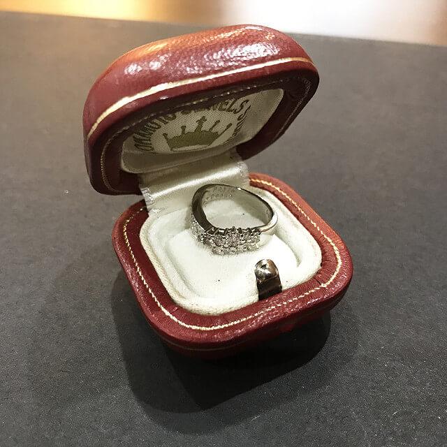 西宮のお客様からピンクダイヤモンドの指輪を買取_04