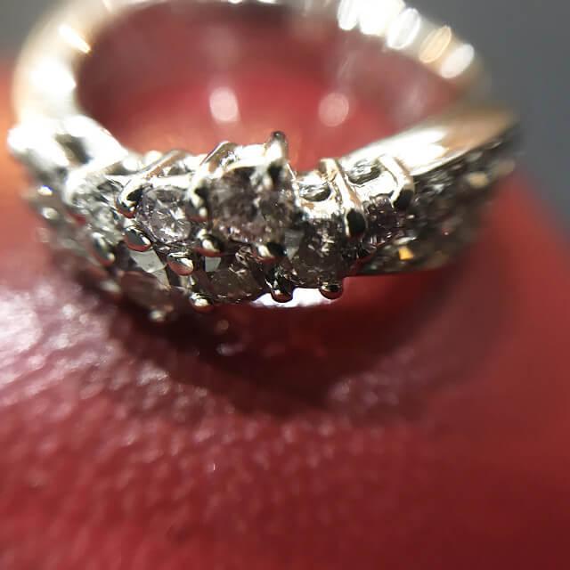 西宮のお客様からピンクダイヤモンドの指輪を買取_02