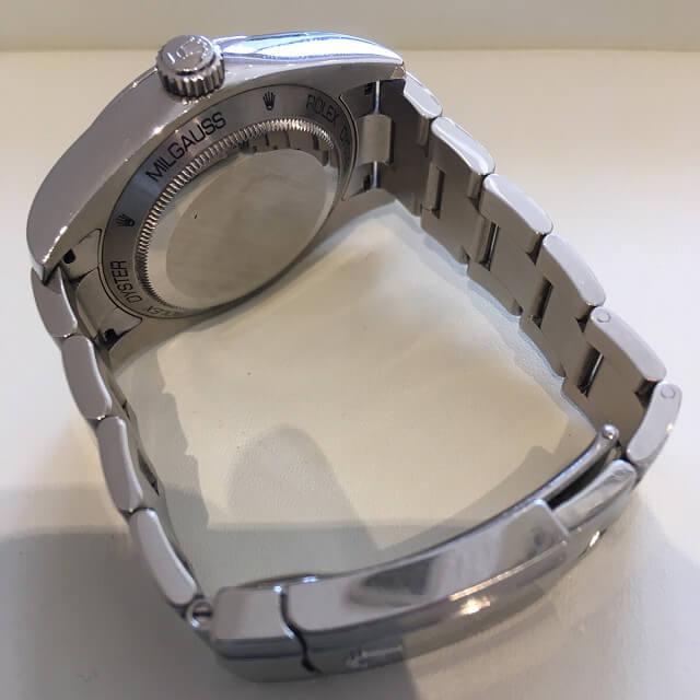大阪梅田のお客様からロレックスの腕時計【ミルガウス】を買取_03