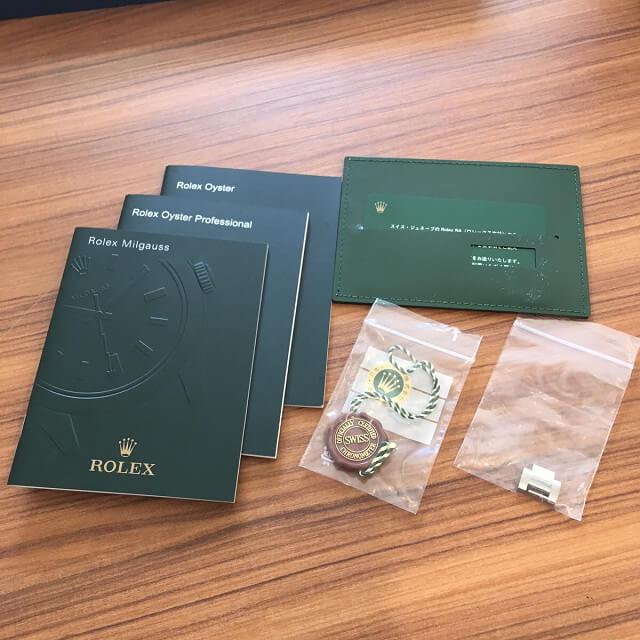 大阪梅田のお客様からロレックスの腕時計【ミルガウス】を買取_04