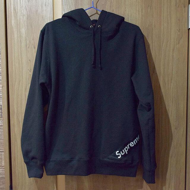 堀江のお客様からSupreme(シュプリーム)のCorner Label Hooded Sweatshirtを買取_01