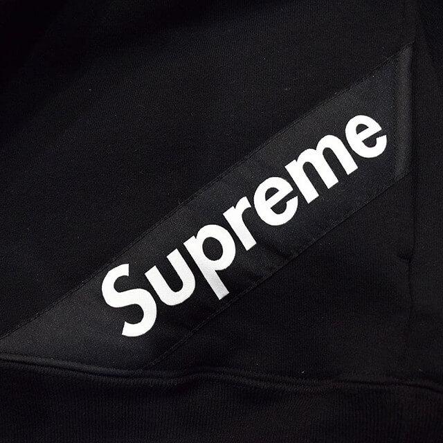 堀江のお客様からSupreme(シュプリーム)のCorner Label Hooded Sweatshirtを買取_03
