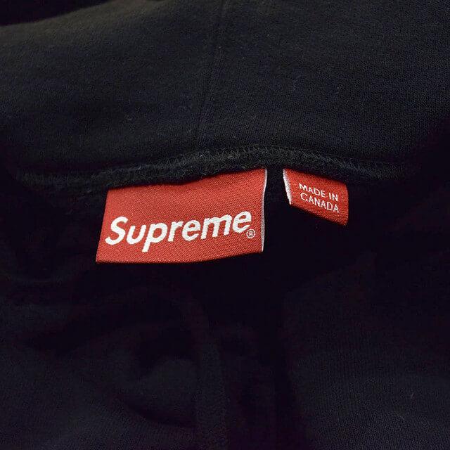 堀江のお客様からSupreme(シュプリーム)のCorner Label Hooded Sweatshirtを買取_04