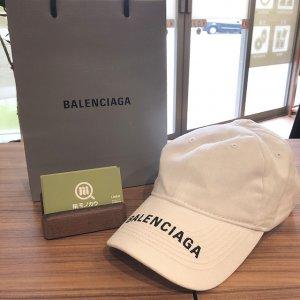 天王寺のお客様からバレンシアガのロゴ入り【ベースボールキャップ】を買取