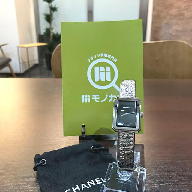 天王寺のお客様からシャネルの腕時計【ボーイフレンド】を買取_01