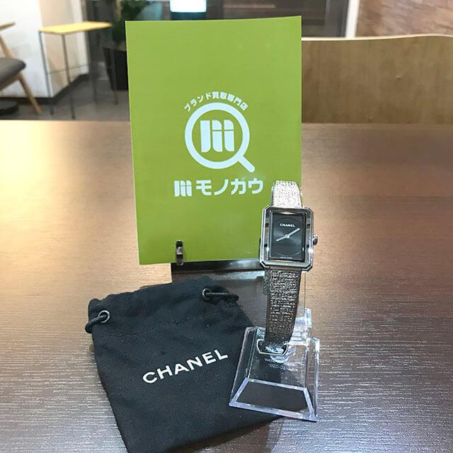 天王寺のお客様からシャネルの腕時計【ボーイフレンド】を買取_02
