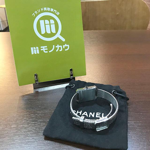 天王寺のお客様からシャネルの腕時計【ボーイフレンド】を買取_03