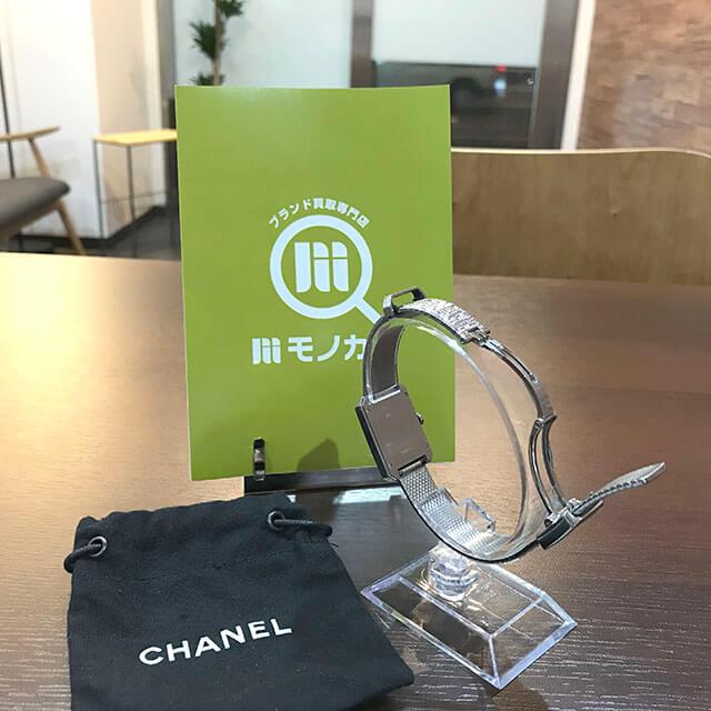 天王寺のお客様からシャネルの腕時計【ボーイフレンド】を買取_04