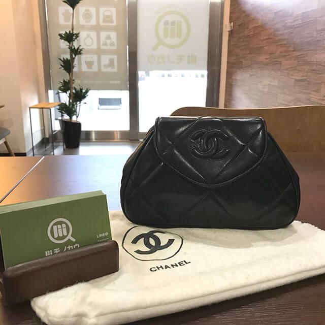 7a8728c1efab 天王寺のお客様からシャネルのマトラッセチェーンバッグを買取_01 ...