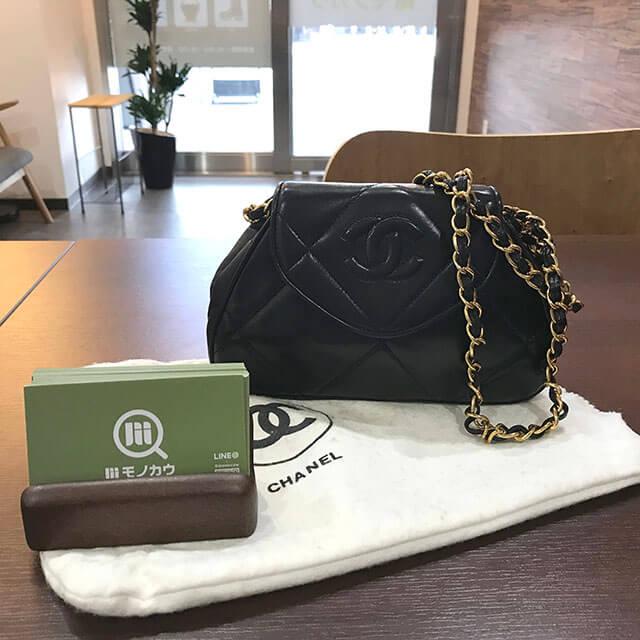 天王寺のお客様からシャネルのマトラッセチェーンバッグを買取_02