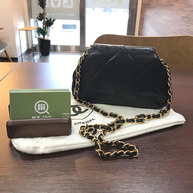 天王寺のお客様からシャネルのマトラッセチェーンバッグを買取_03