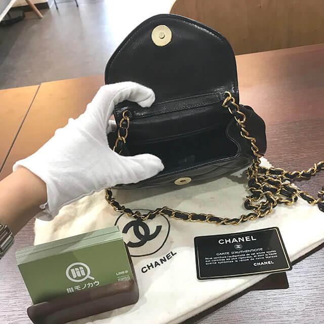 天王寺のお客様からシャネルのマトラッセチェーンバッグを買取_04