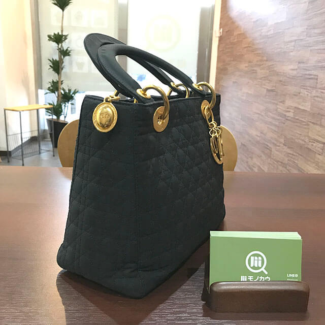 天王寺のお客様からディオールの人気バッグ【レディディオール】を買取_03