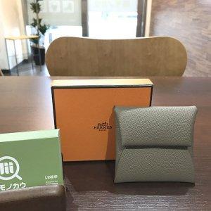 深江橋のお客様からエルメスのコインケース【バスティア】を買取