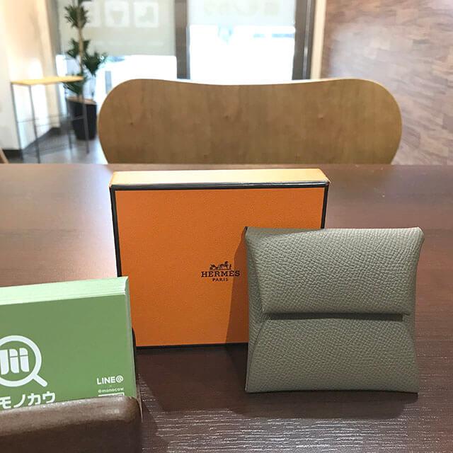深江橋のお客様からエルメスのコインケース【バスティア】を買取_01