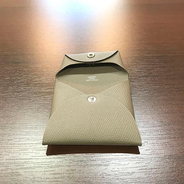 深江橋のお客様からエルメスのコインケース【バスティア】を買取_03