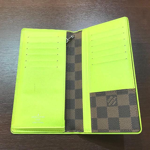難波(なんば)のお客様からヴィトンの長財布【ポルトフォイユ・ブラザ】を買取_04