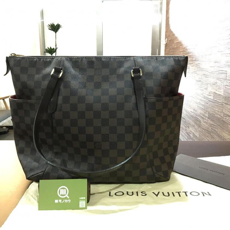 モノカウ緑橋店にてヴィトンのダミエのバッグ【トータリーMM】を買取_01