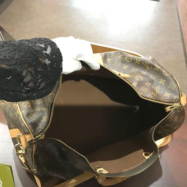 深江橋のお客様からヴィトンのボストンバッグ【キーポル50バンドリエール】を買取_04