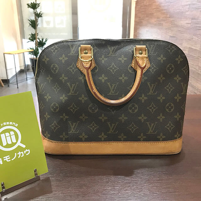 深江橋のお客様からヴィトンのハンドバッグ【アルマ】を買取_01