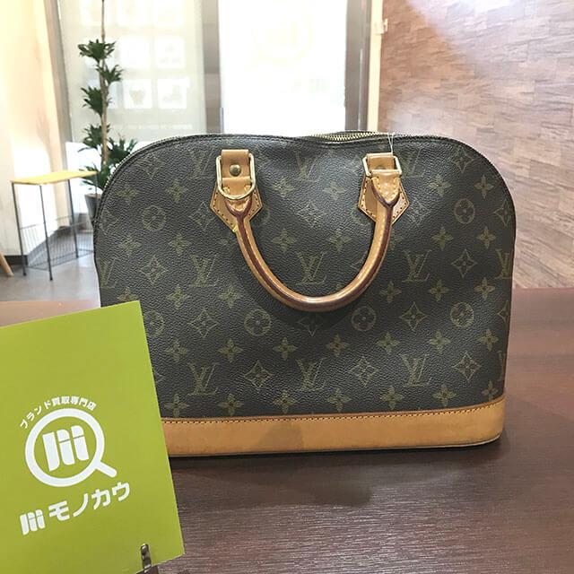 深江橋のお客様からヴィトンのハンドバッグ【アルマ】を買取_02