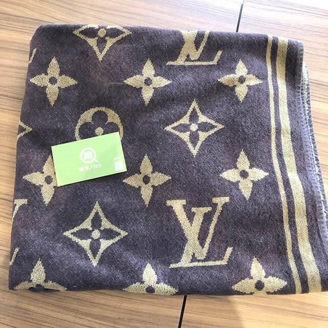 南堀江のお客様からヴィトンのモノグラムのバスタオルを買取_01