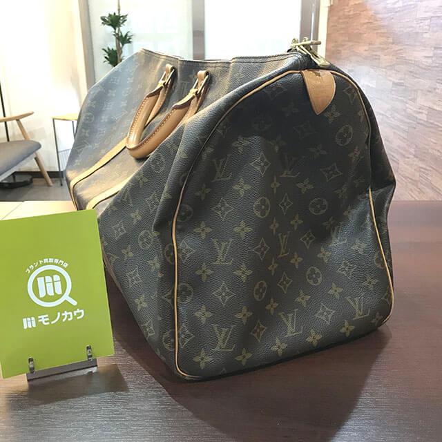 名古屋のお客様からヴィトンのボストンバッグ【キーポル55】を買取_03