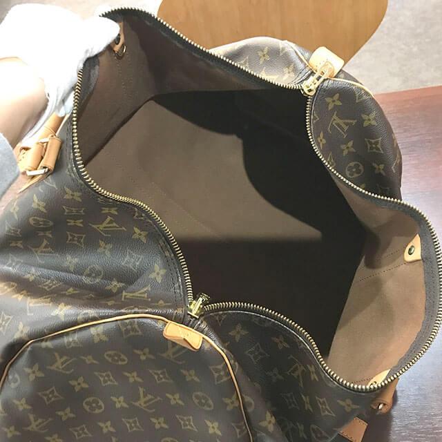 名古屋のお客様からヴィトンのボストンバッグ【キーポル55】を買取_04