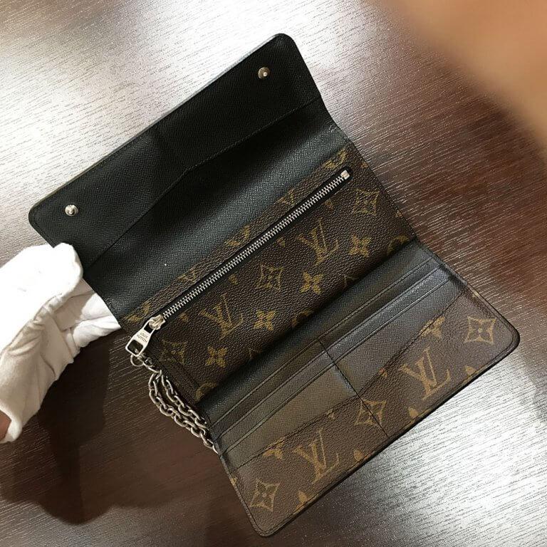 生野のお客様からヴィトンのモノグラムマカサーのメンズ長財布を買取_04