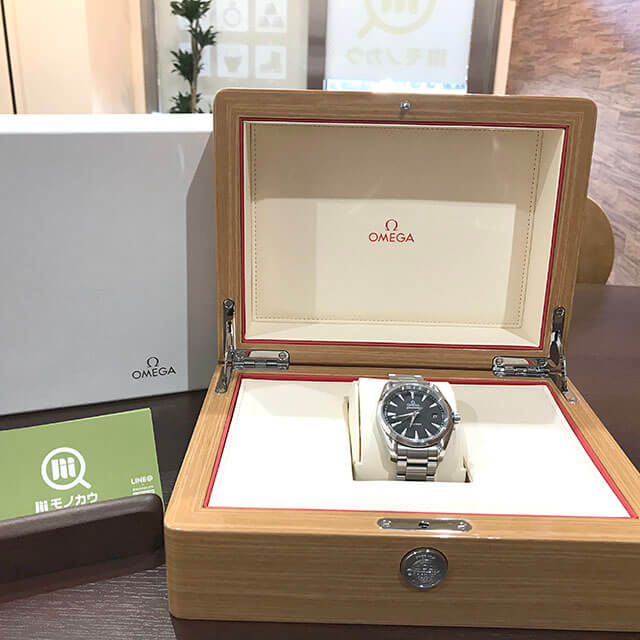 高砂のお客様からオメガの腕時計【シーマスター アクアテラ】を買取_02