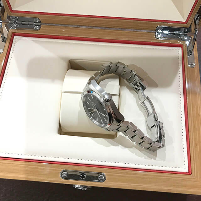 高砂のお客様からオメガの腕時計【シーマスター アクアテラ】を買取_03