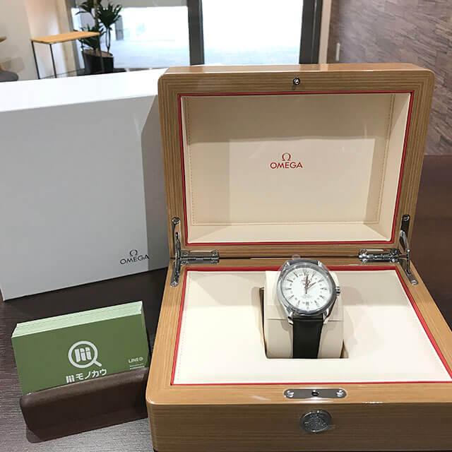 荻窪のお客様からオメガの腕時計【シーマスター アクアテラGMT】を買取_01