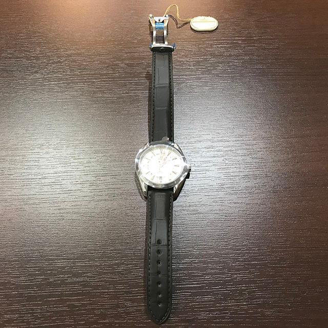 荻窪のお客様からオメガの腕時計【シーマスター アクアテラGMT】を買取_03